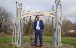Humza Yousaf at Corkerhill