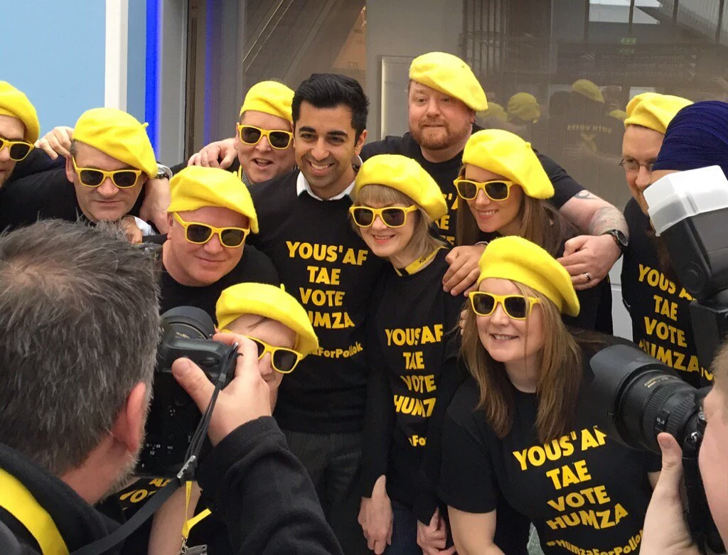 Humza and the Campaign Team