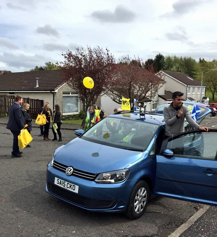 Humza on the Trail