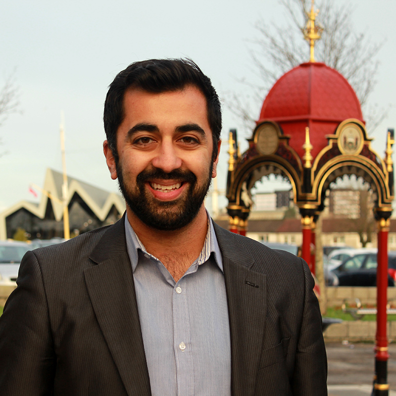 About Humza Yousaf